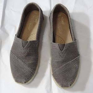 TOMS Slip On Shoes 7